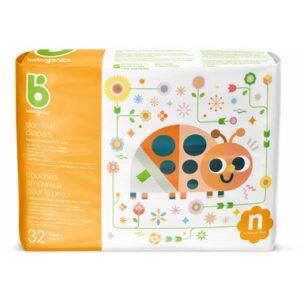 babyganics Skin Love Ultra Absorbent Diapers Size Newborn