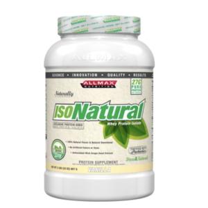 Allmax IsoNatural Whey Protein Isolate Vanilla 2lbs