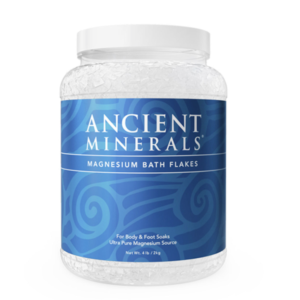 Ancient Minerals Magnesium Bath Flakes 4.4lbs