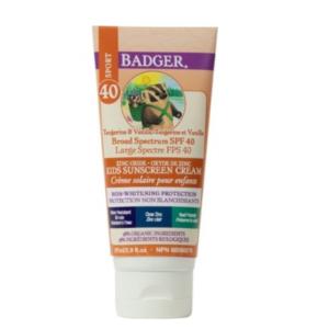 Badger SPF 40 Kids Clear Zinc Sunscreen