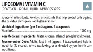 dfh liposomal vitamin c