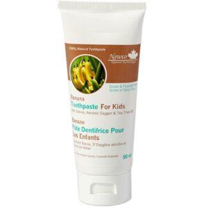 Newco Banana Fluoride Free Kids Toothpaste