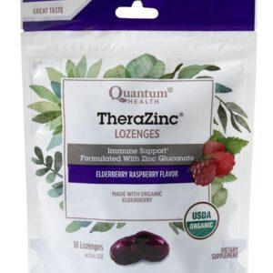 TheraZinc® Organic Elderberry Raspberry Bagged Lozenges