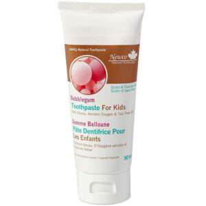 Newco Bubblegum Fluoride Free Kids Toothpaste