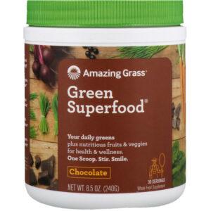 Amazing Grass Green SuperFood Powder Chocolate