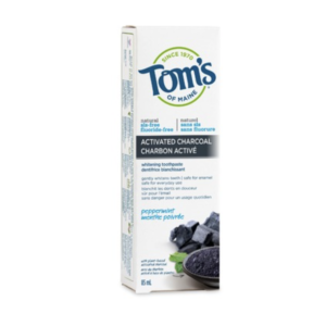 Tom's Of Maine Peppermint Activated Charcoal Toothpaste